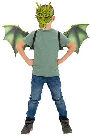 Комплект Дракон, маска и крила #I07465