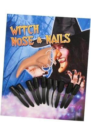 Комплект Вещица - нос и нокти #B92441B