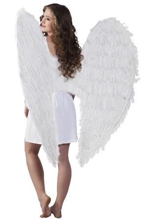 Крила естествен пух бели, Куку МагЪзин