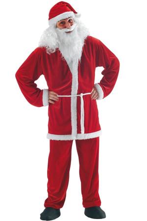 Костюм Дядо Коледа, лукс #I27002