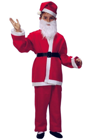 Костюм Дядо Коледа - детски #E11924