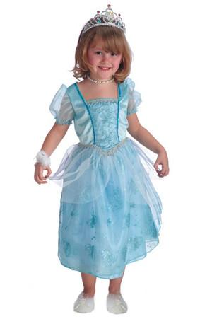 Детски костюм Синя принцеса #I24211