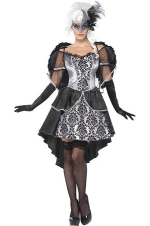 Дамски костюм Тъмен Ангел #SMF41105