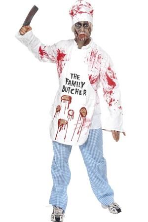 Мъжки костюм Касапин-Зомби #SMF36832