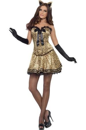 Дамски костюм Котка #SMF42326
