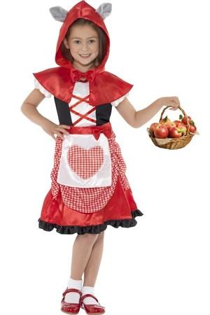 Детски костюм Червена шапчица #SMF41100