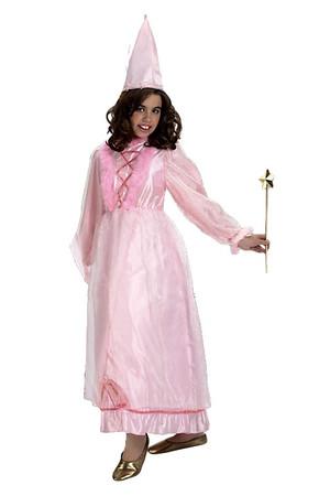 Детски костюм розова Пепеляшка #E91757