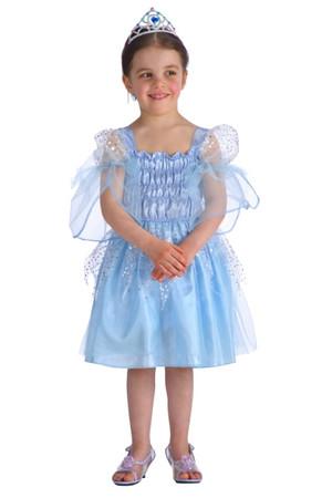 Детски костюм синя принцеса Антея #I28025