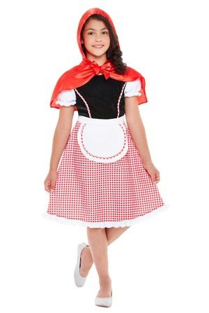 Детски костюм Червена шапчица #SMF47755