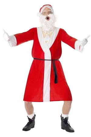 Костюм Дядо Коледа, ексхибиционист #SMF22051