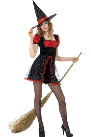 Дамски костюм Звездна Вещица #SMF34659