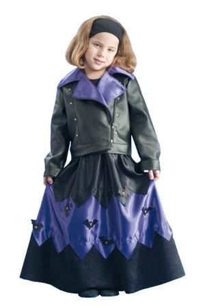Детски костюм Вещица с кожено яке #I23007