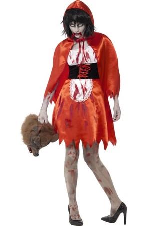 Дамски костюм Червената Шапчица Зомби, Куку МагЪзин