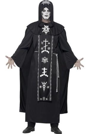 Мъжки костюм Господарят на Черната Магия #SMF45571