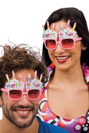 Карнавални очила Happy Birthday #I06056