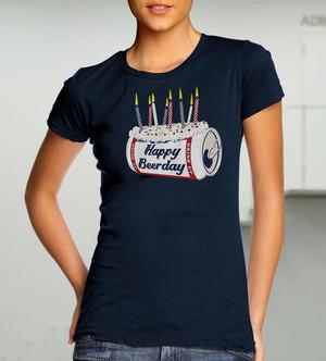 Happy Beerday (дамска тениска)