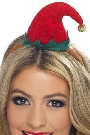 Шапка Коледна Елф на диадема #SMF23450