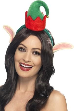 Шапка Коледна Елф на диадема #SMF46758