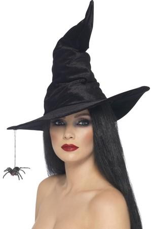 Шапка Вещица с висящ паяк #SMF24146