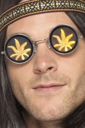 Очила с Марихуана холограмни #SMF41578