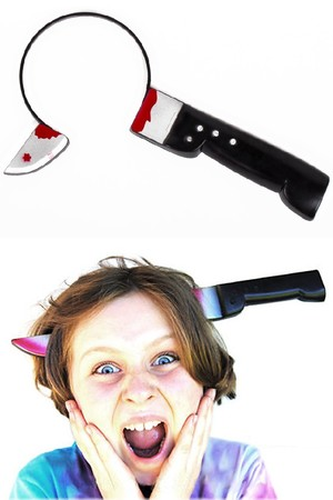 Нож през глава #P2310