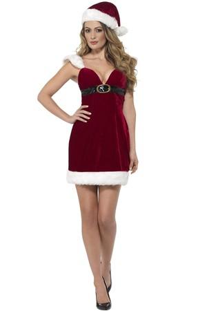 Коледен костюм - дамски, Лукс #SMF46750