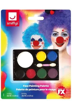 Комплект гримове 7 цвята - палитра #SMF24410