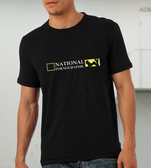 National Pornographic (мъжка тениска)