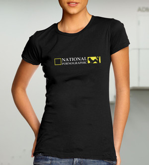 National Pornographic (дамска тениска)