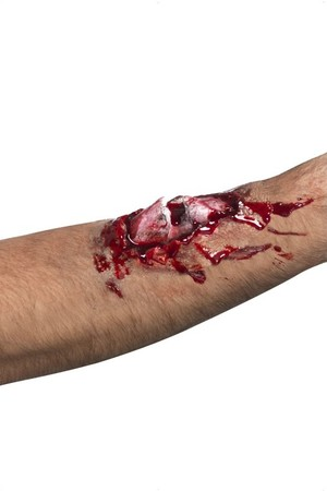 Релефна татуировка - счупена кост #SMF37153