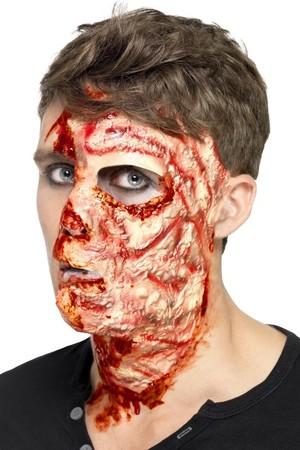 Релефна татуировка - изгорено лице #SMF27742