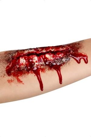 Релефна татуировка - отворена рана #SMF37173