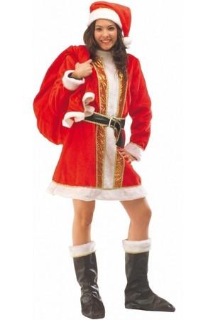 Дамски костюм Снежанка, плюш #E11909