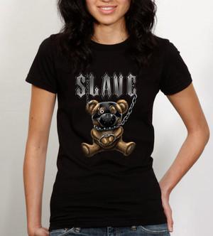 Slave Teddy Bear (дамска тениска)