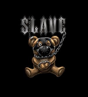 Куку тениска - Slave Teddy Bear детайл