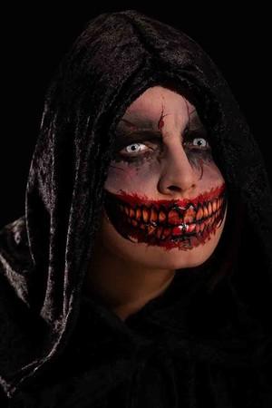Татуировкa уста със зъби #I09470