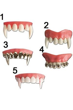 Зъби горни, 5 модела #I06250