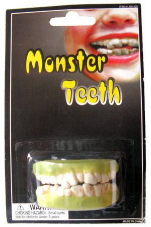 Зъби Чудовище #J00/420
