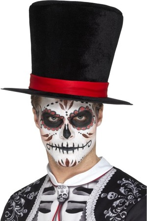 Шапка Цилиндър Day Of The Dead #SMF48172