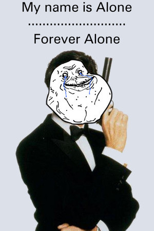 Anti Valentine's Day - My name is Alone, Forever Alone